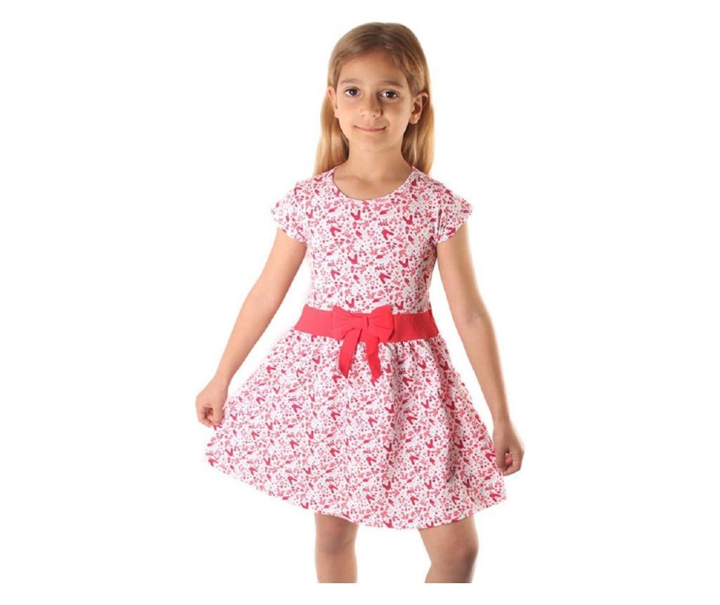 Rochie 6-7 ani - Dalmaz, Rosu