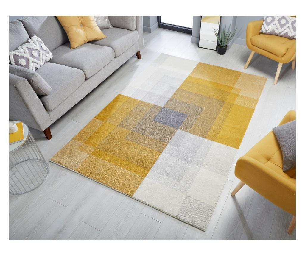 Covor Plaza abstract 160x230 cm - Flair Rugs, Verde imagine