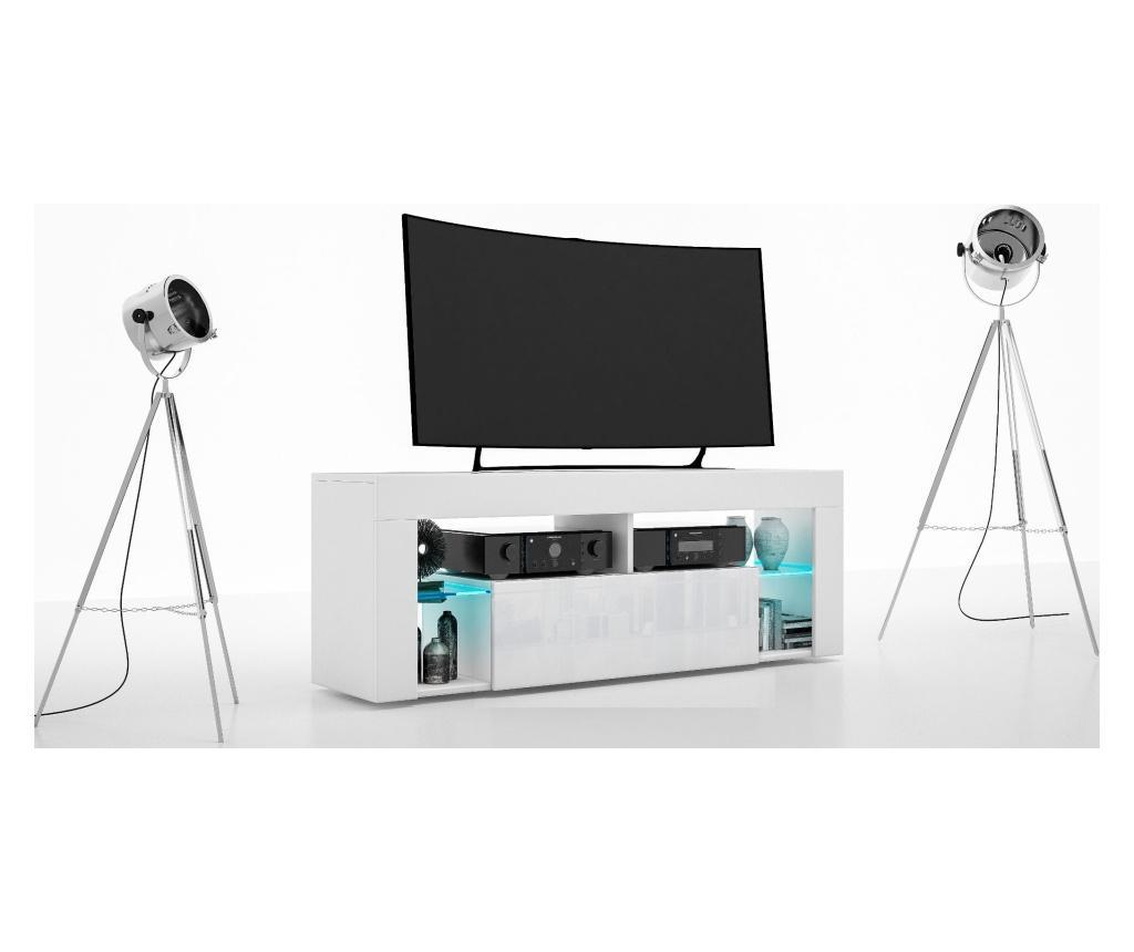 Comoda TV Vivid - Casa dolce, Alb imagine