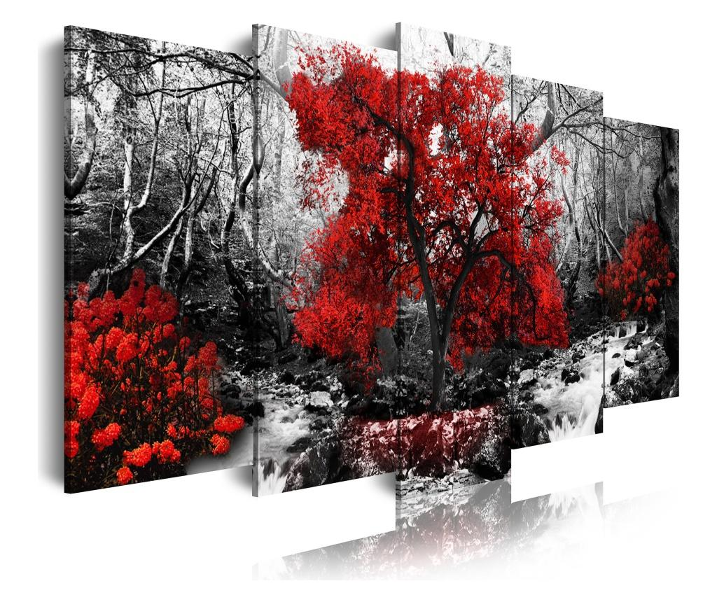 Set 5 tablouri - DekoArte, Multicolor imagine