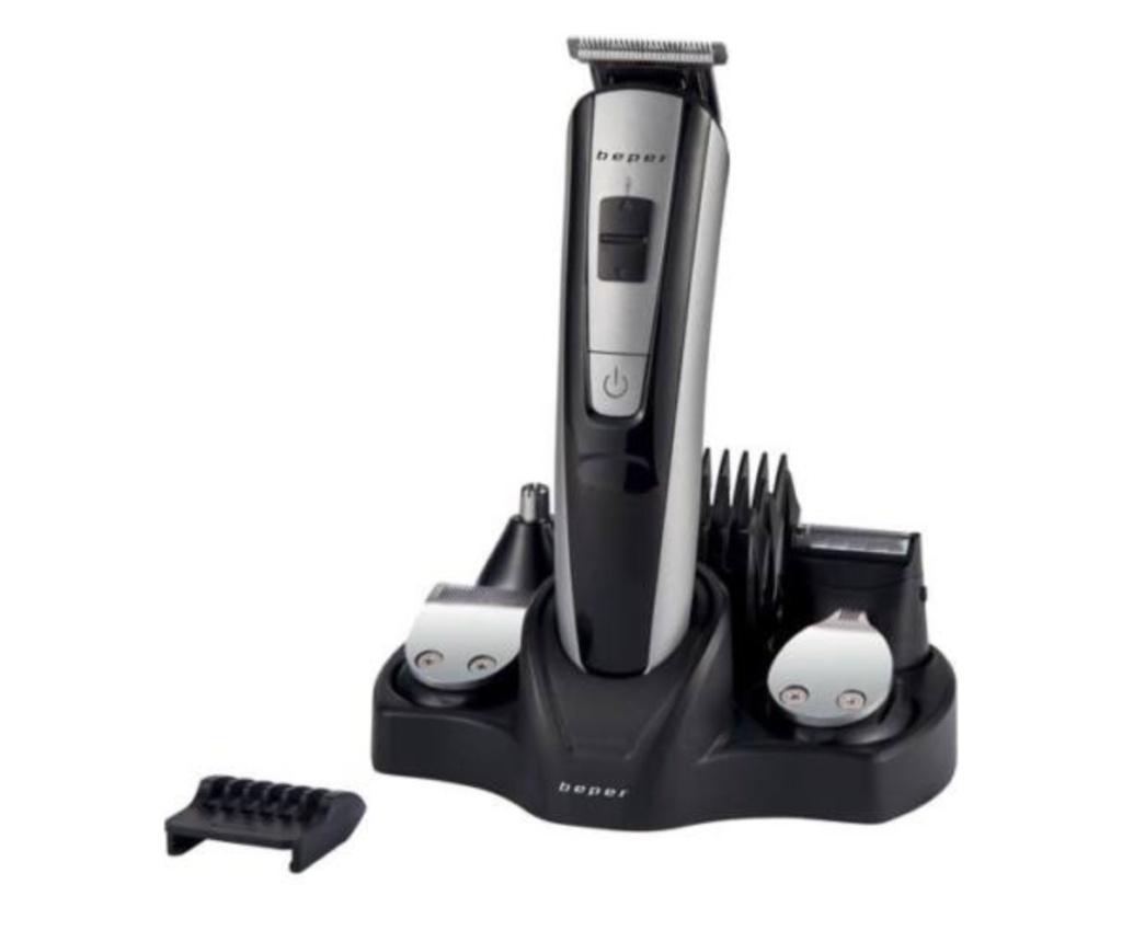 Set trimmer Hair & Beard - Beper, Negru poza noua