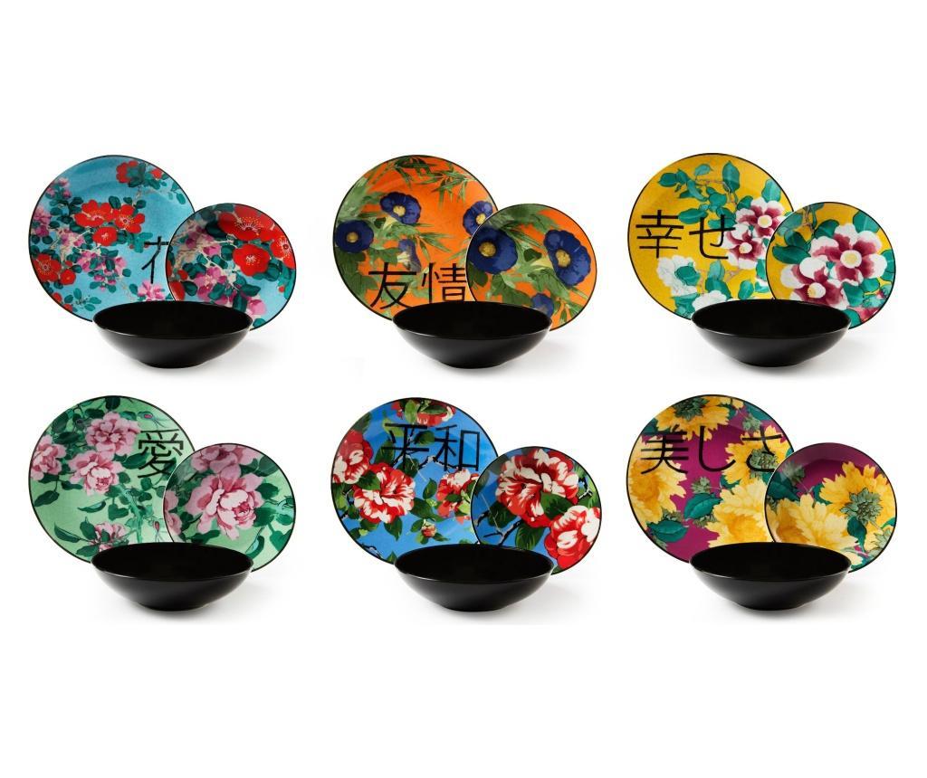 Set de masa 18 piese Furisode - Excelsa, Multicolor imagine