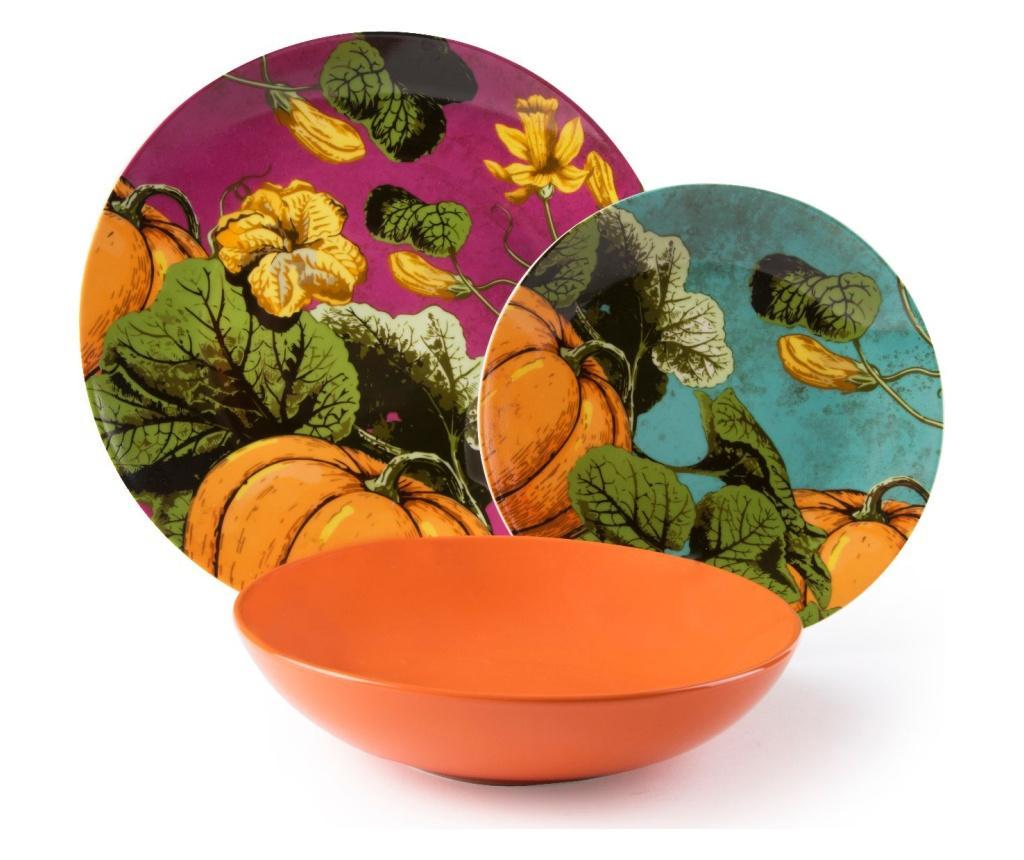 Set de masa 18 piese Pumpkin - Excelsa, Multicolor imagine