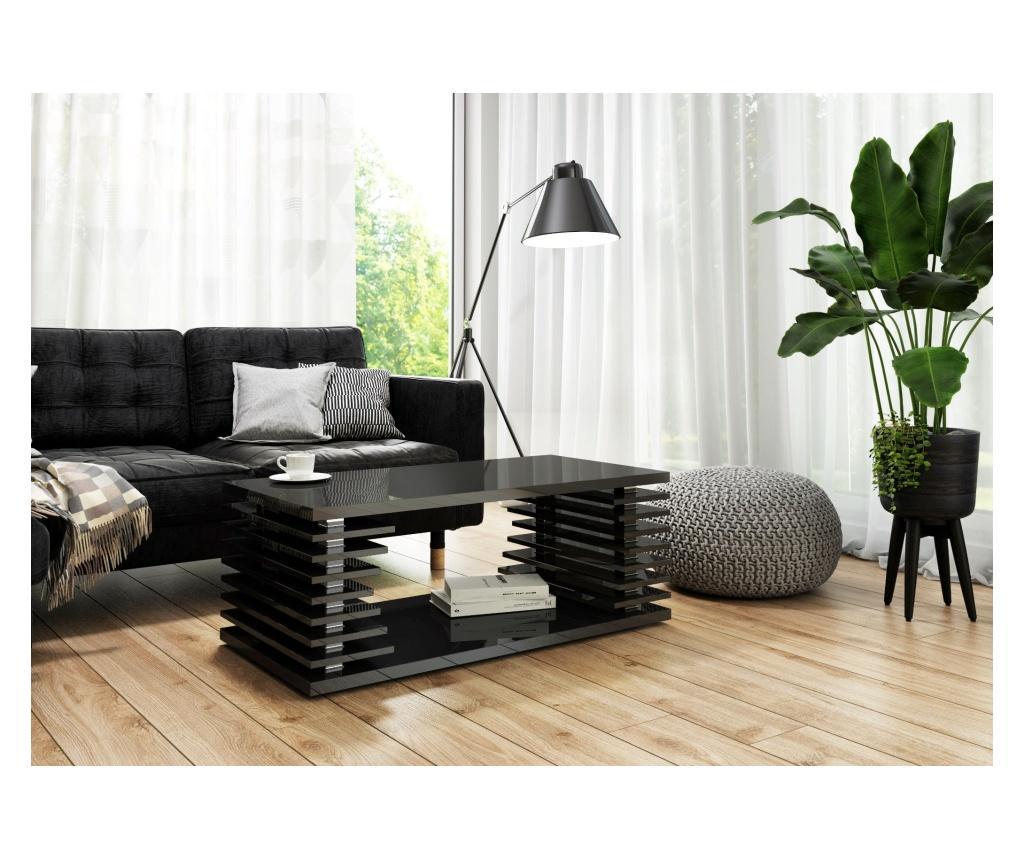 Masuta de cafea Veinis - hard furniture, Negru poza
