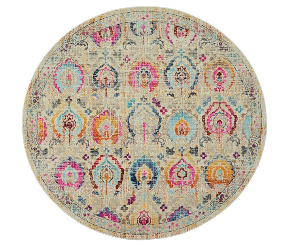 Covor Flower Pattern 122 cm - Nourison, Multicolor imagine