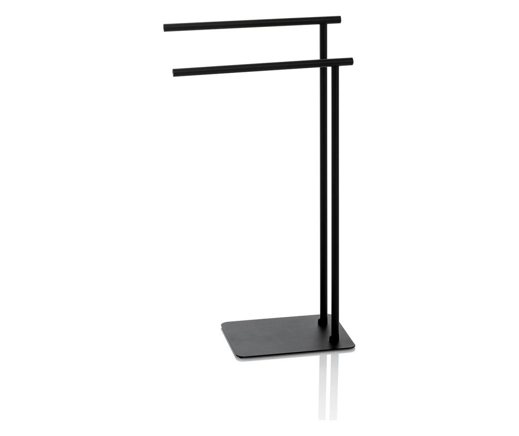 Suport pentru prosoape Dodo - TFT Home Furniture, Negru imagine vivre.ro