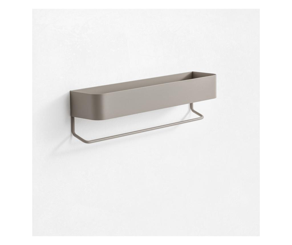 Polita Nina - TFT Home Furniture, Gri & Argintiu