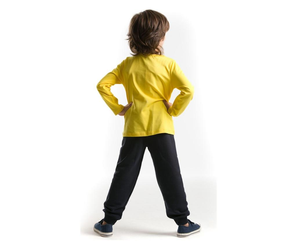 Set bluza si pantaloni Rar T-Rex 4 years - Denokids poza