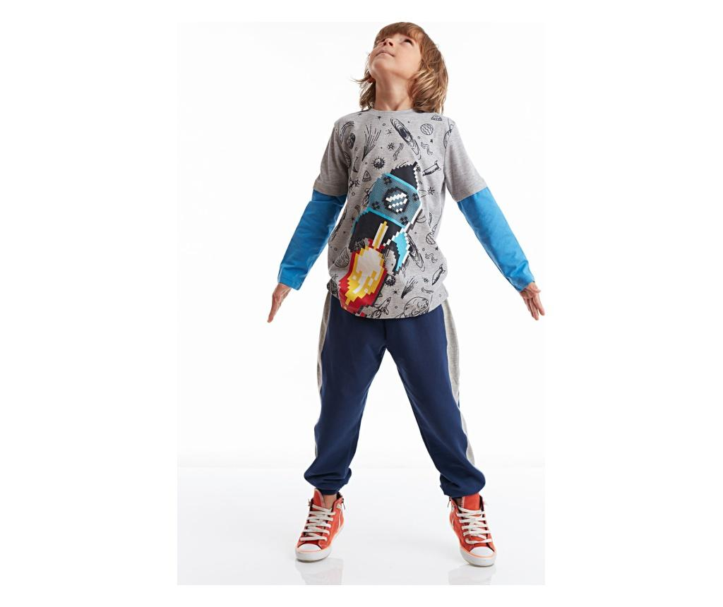 Set bluza si pantaloni Pixel Rocke 7 years - Mushi imagine