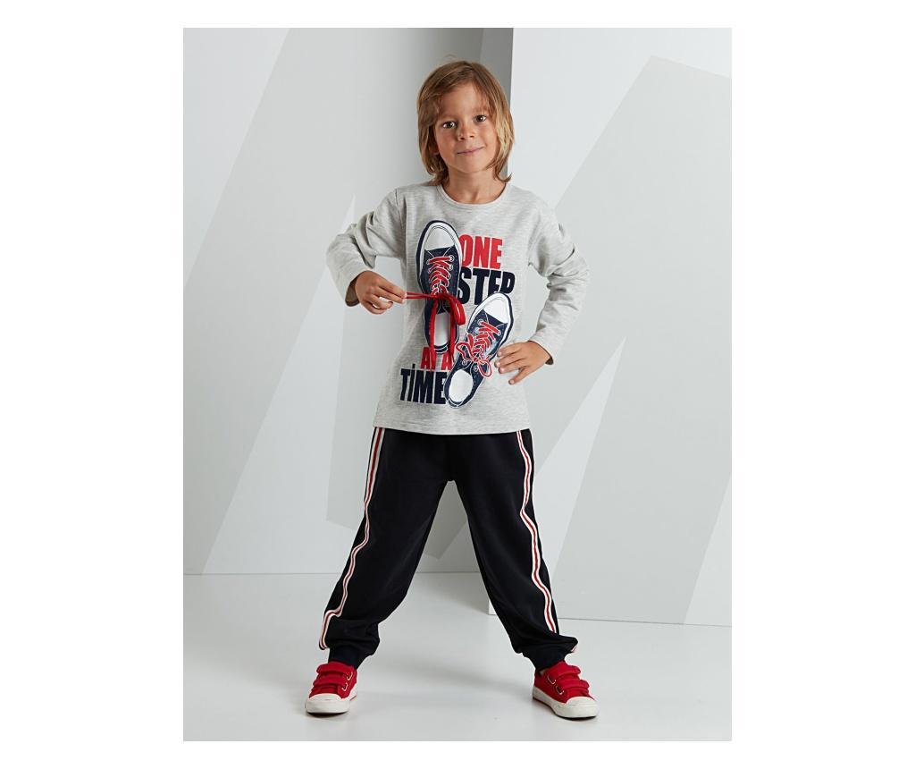 Set bluza si pantaloni Shoes 7 years - Mushi poza noua