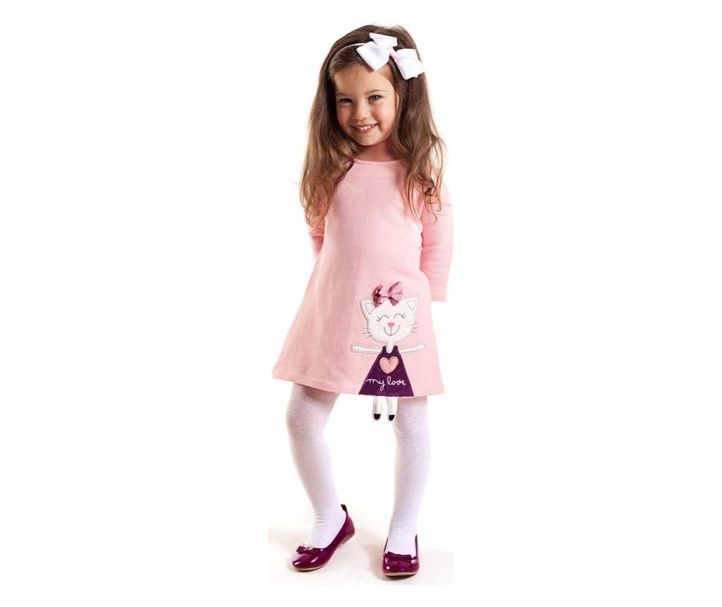 Rochie Cat Pink 5 years - Denokids