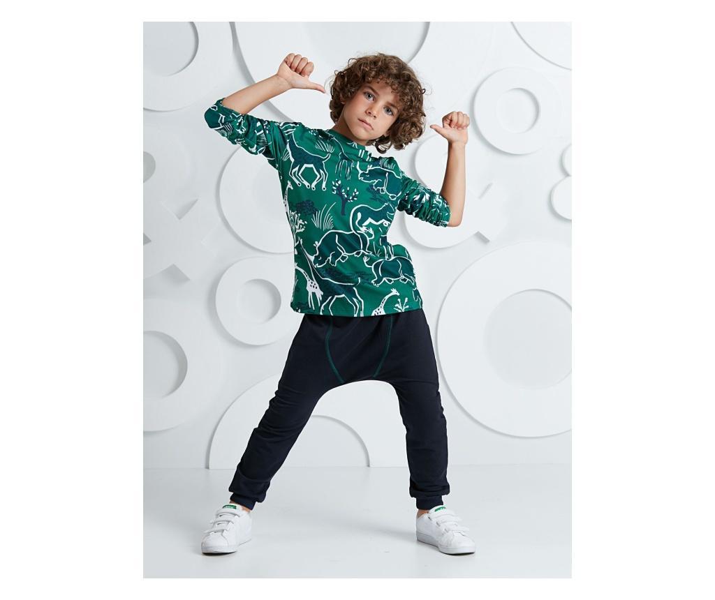 Set bluza si pantaloni Forrest 8 years - Mushi, Multicolor imagine