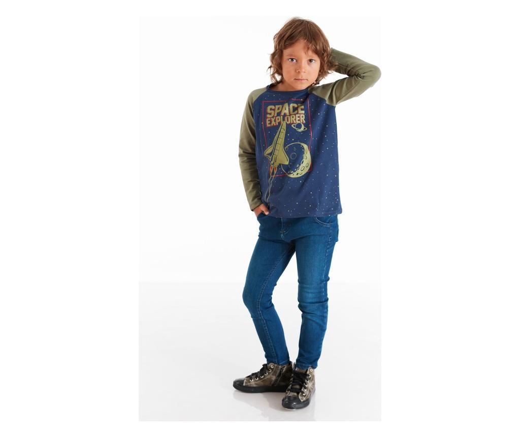 Set bluza si blugi Explorer 9 years - Mushi, Multicolor