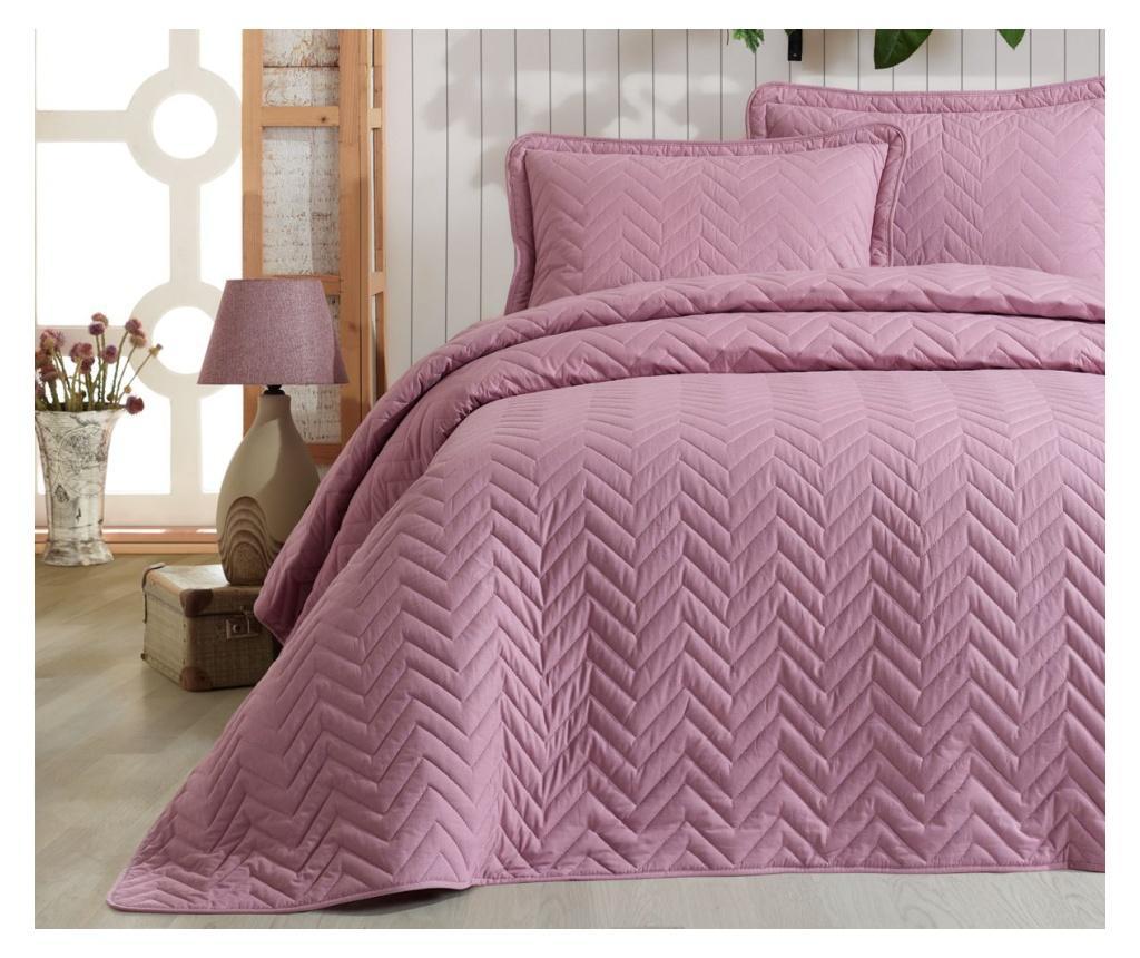 Set cuvertura King Ranforce Ibiza Pink