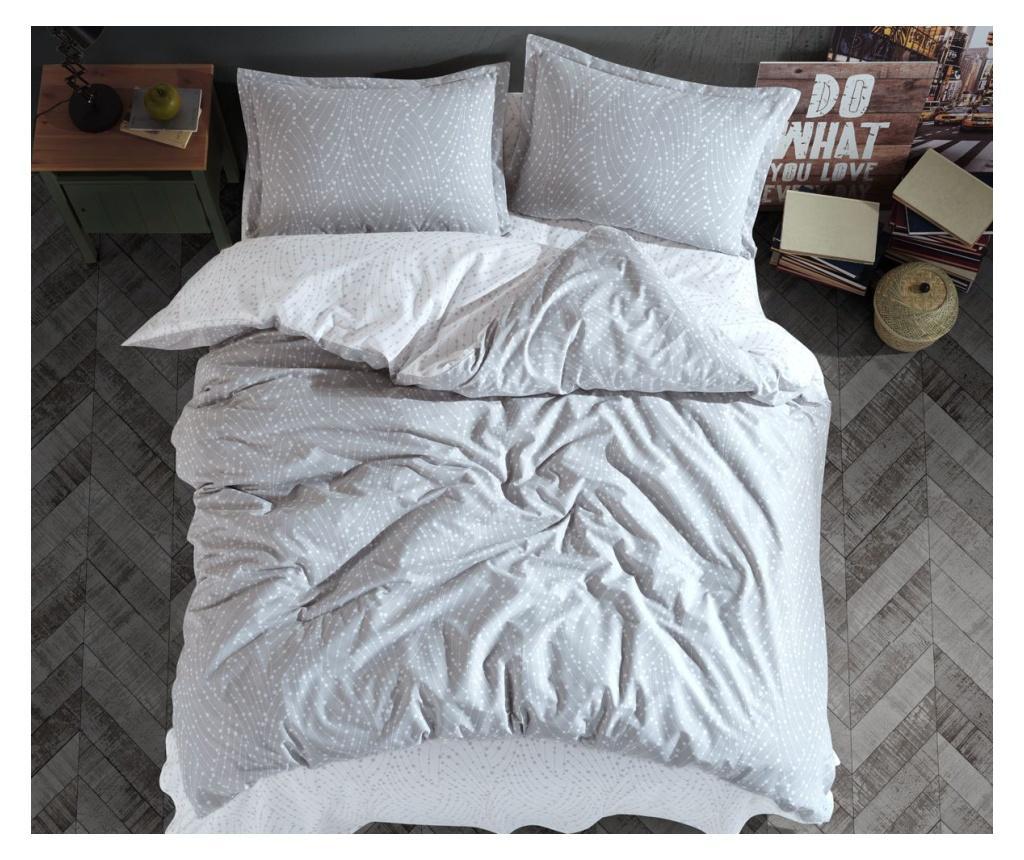Set de pat Double Ranforce Parma Grey