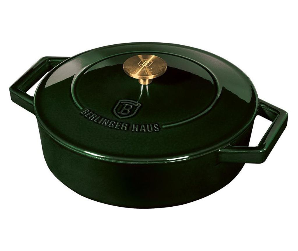 Oala cu capac Emerald 26 cm - Berlinger Haus, Verde imagine
