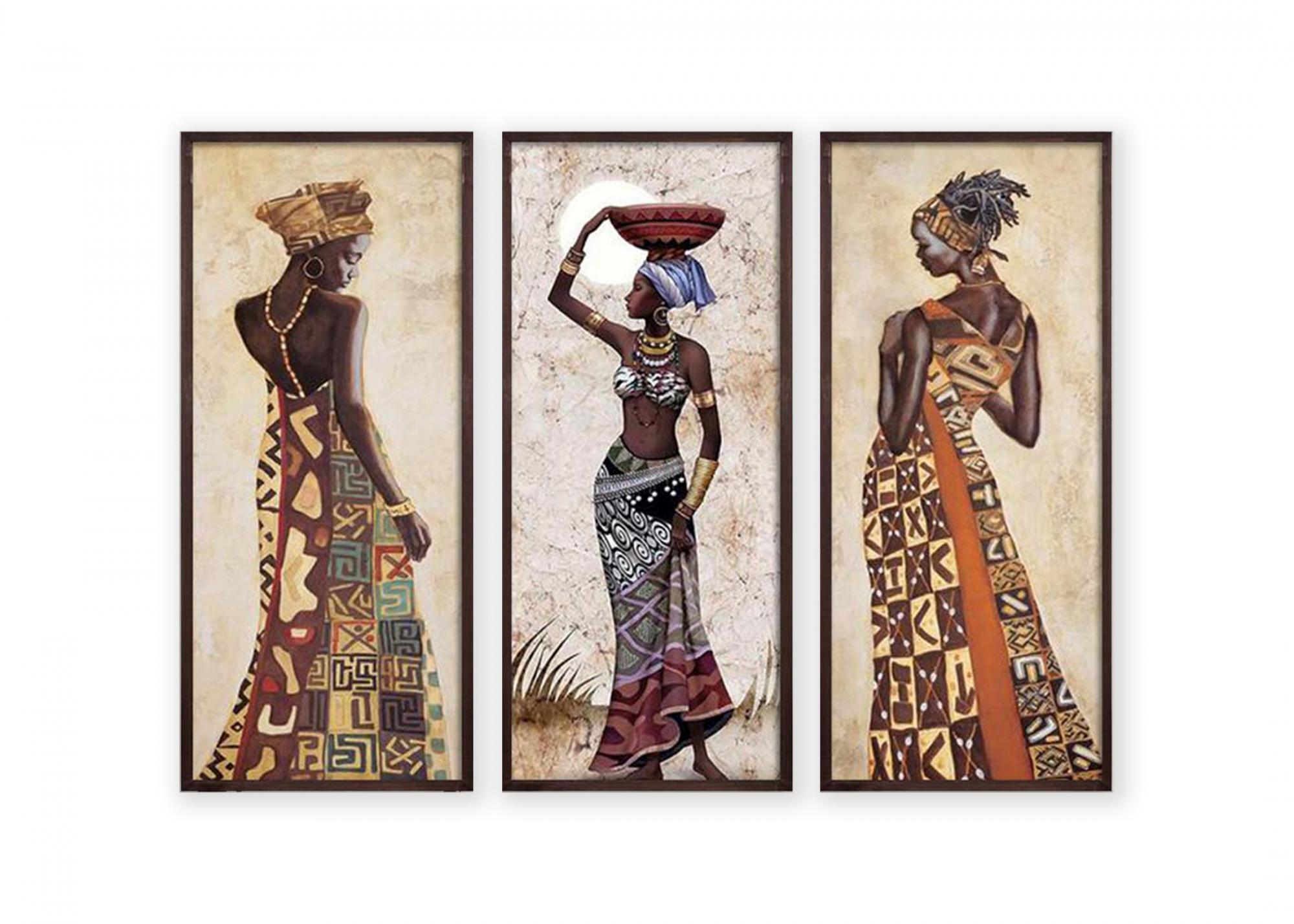 Set 3 tablouri - Oyo Concept, Multicolor imagine