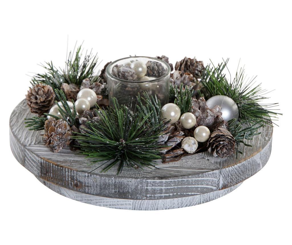 Suport pentru lumanare Alpine Christmas imagine