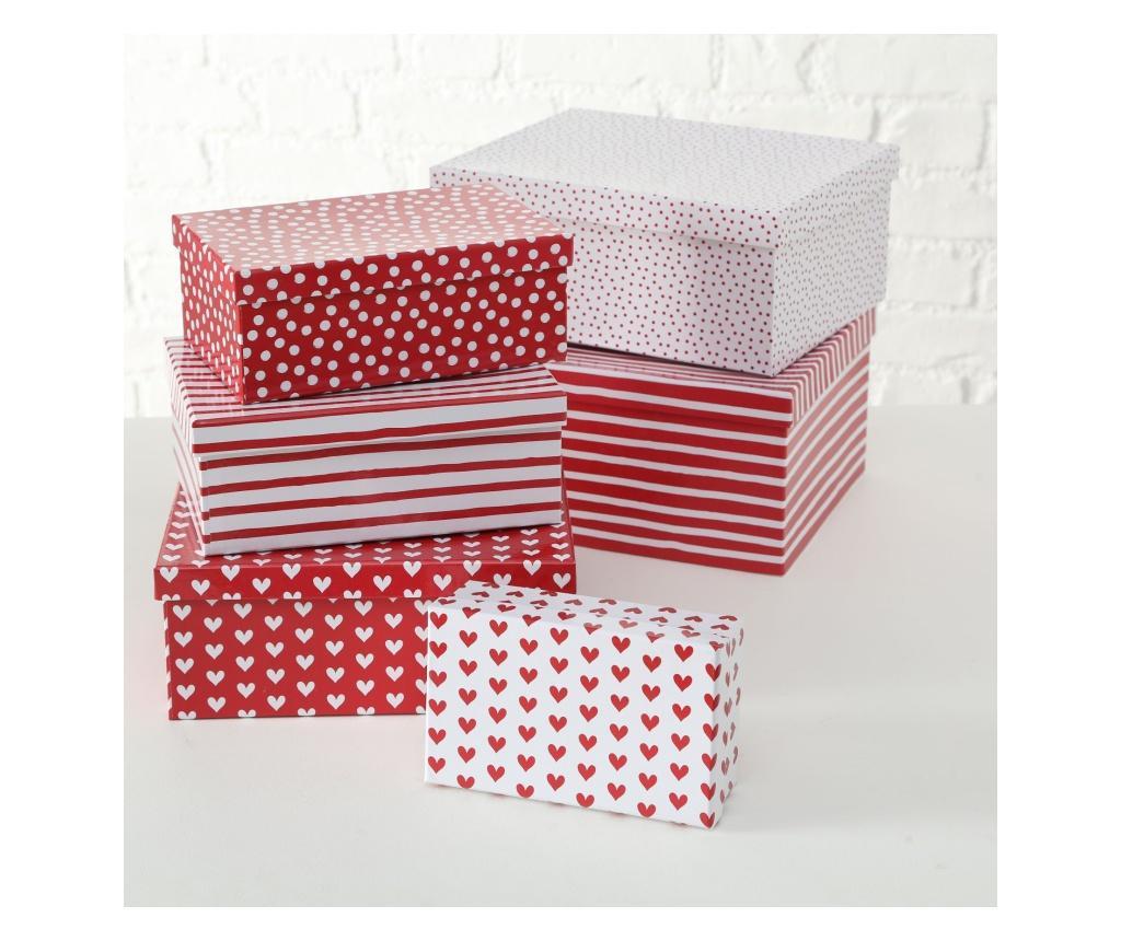 Set 6 cutii pentru cadou Lola imagine