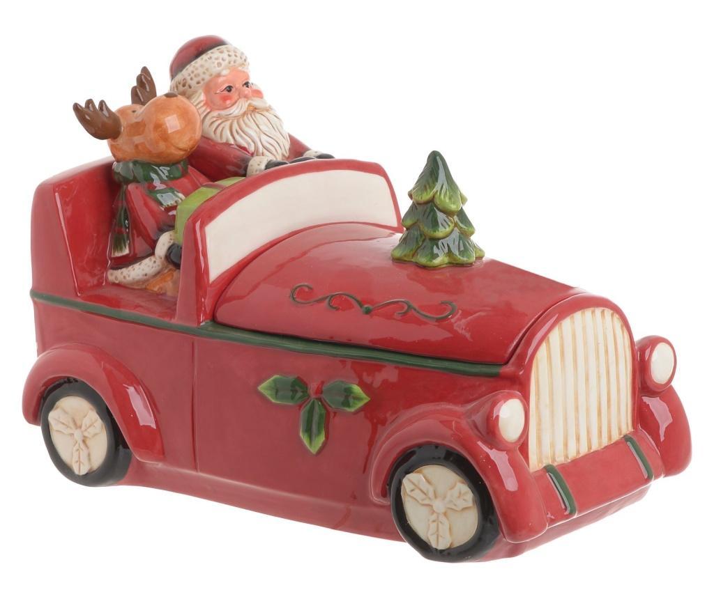 Cutie pentru bomboane Santa's car imagine