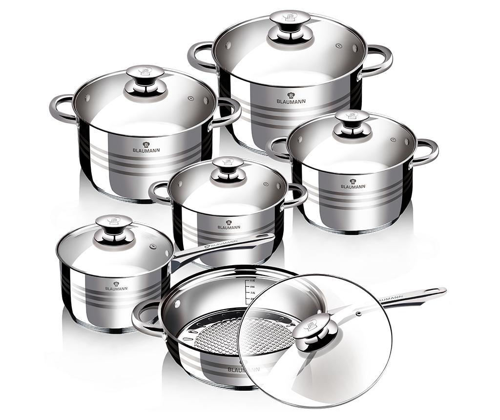 Set vase pentru gatit 12 piese Gourmet Line imagine
