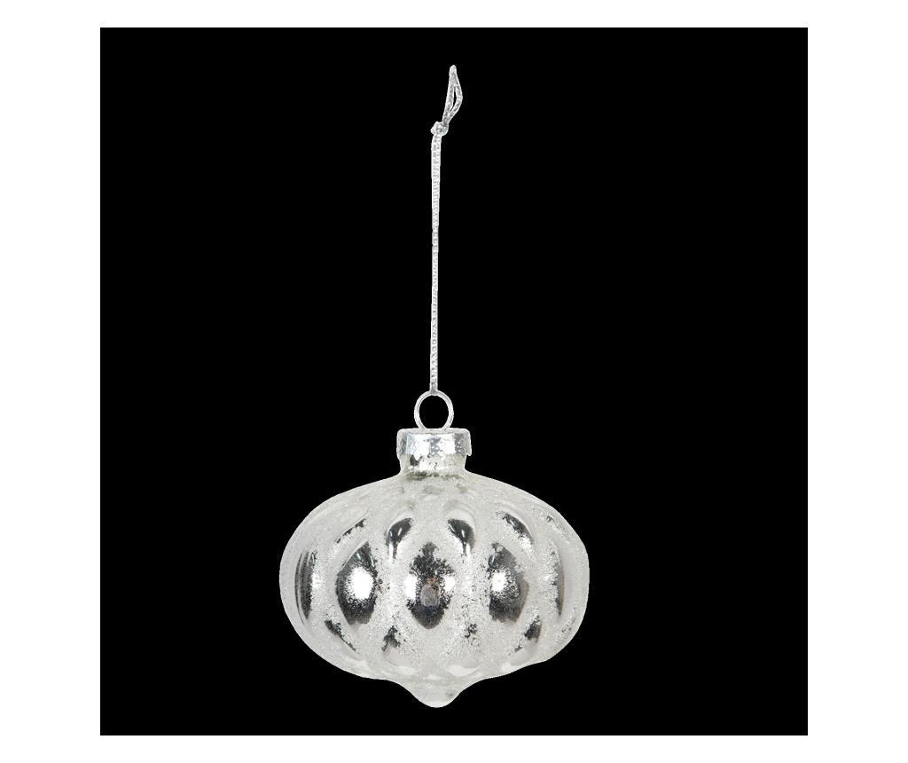 Set 4 globuri decorative Christmas - Clayre & Eef poza