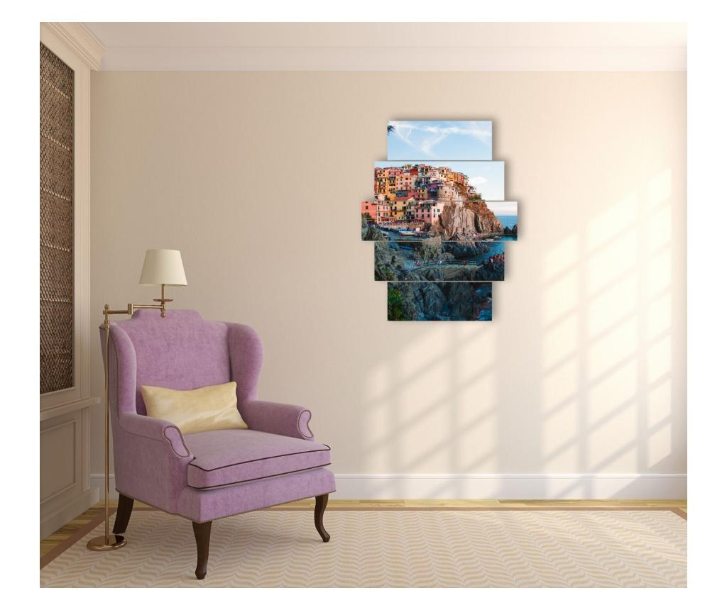 Set 5 tablouri - KAD HOME poza