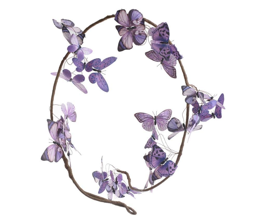 Ghirlanda Butterfly - inart, Roz vivre.ro