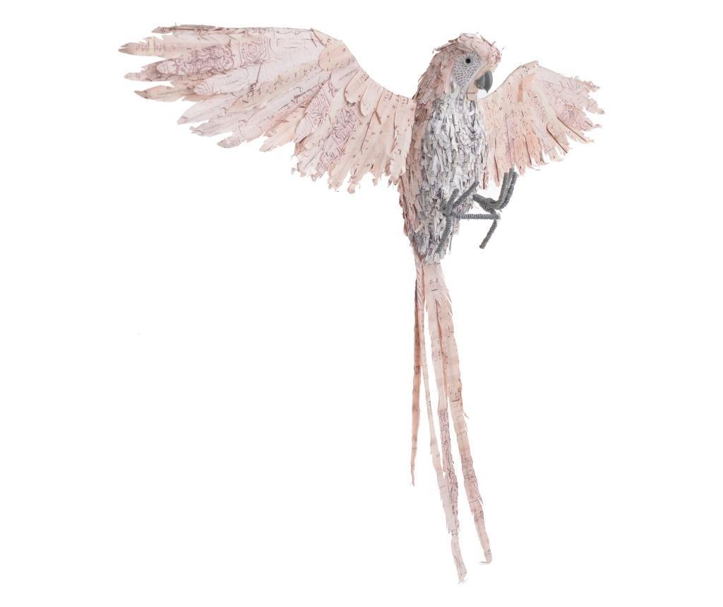Decoratiune Parrot - inart, Crem