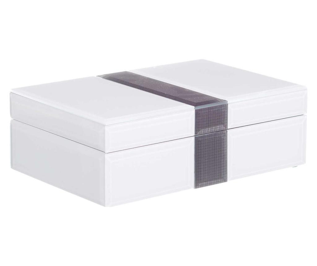 Cutie pentru bijuterii - Ixia, Alb