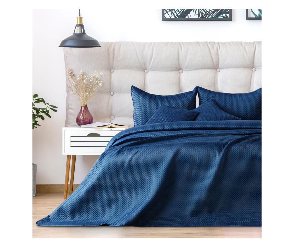 Cuvertura matlasata Carmen 260x280 cm - Amelia Home, Albastru imagine