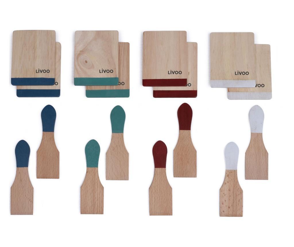 Set accesorii pentru raclette grill - LIVOO, Multicolor imagine