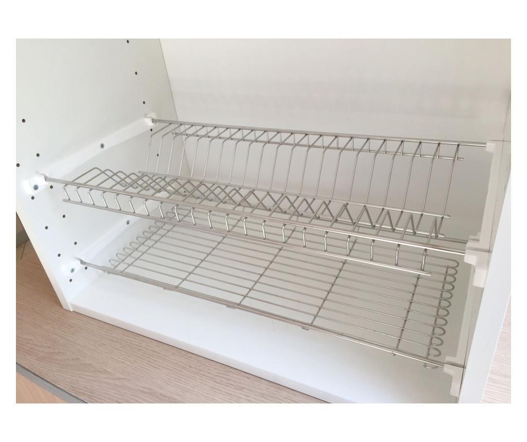 Uscator de vase pentru dulap - CASABRIKO, Gri & Argintiu