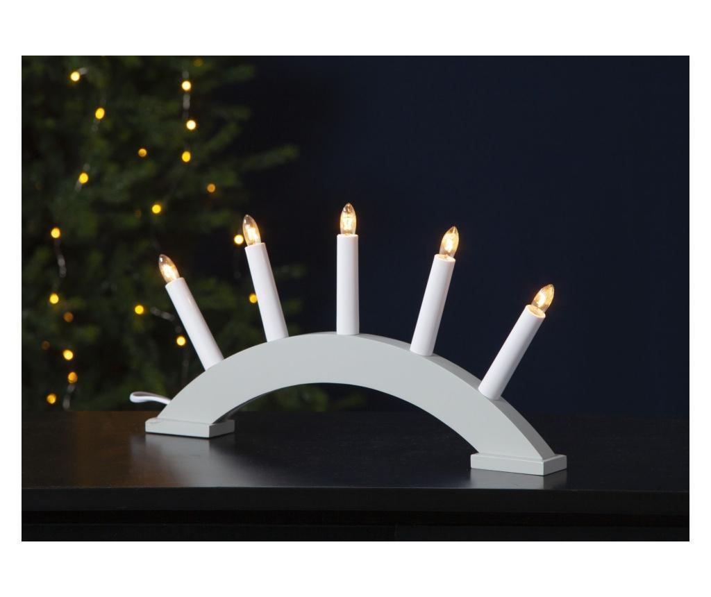 Lumanari cu LED-uri Peg - Best Season, Gri & Argintiu