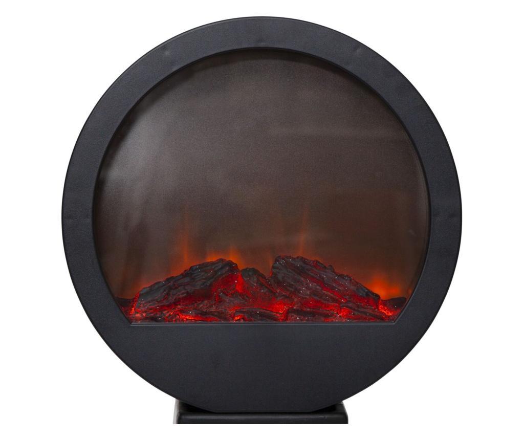 Felinar cu LED Fireplace - Best Season, Negru imagine