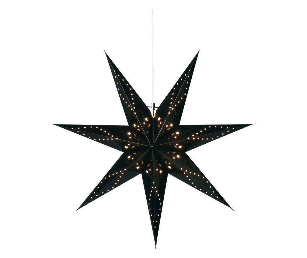Decoratiune luminoasa suspendabila Kabato 100 - Best Season, Negru de la Best Season