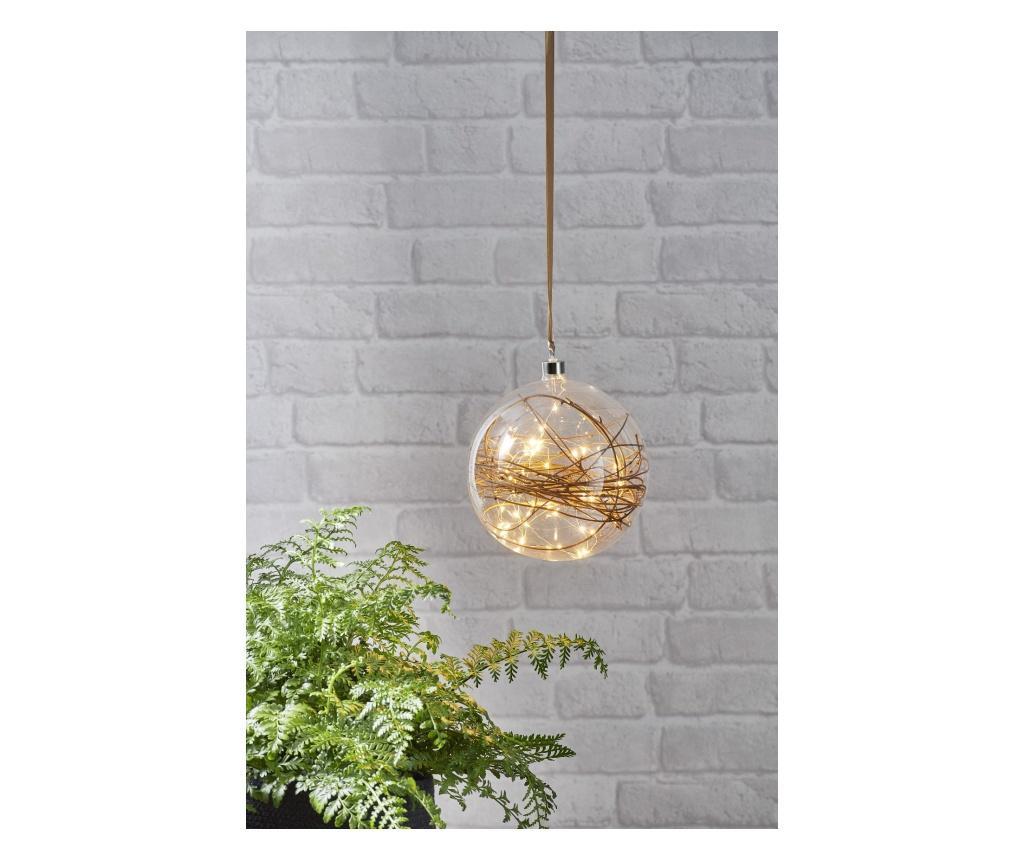 Decoratiune suspendabila cu LED Glow - Best Season, Alb vivre.ro