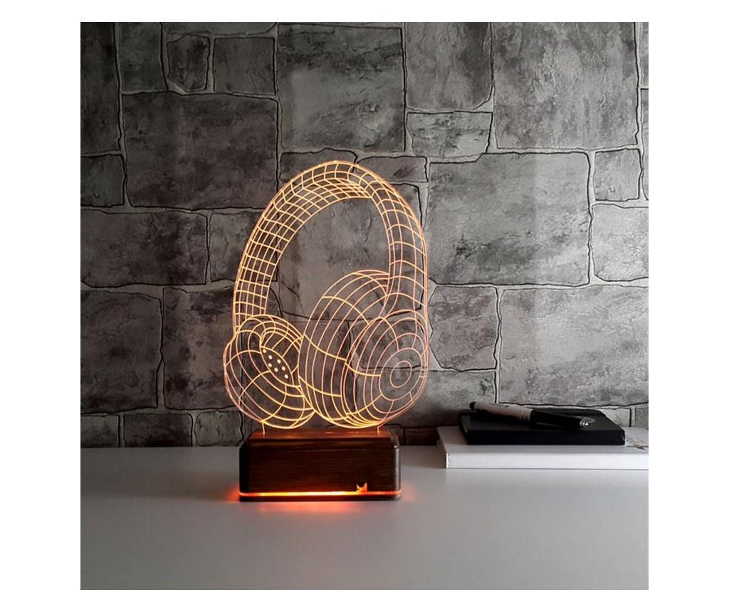 Lampa de masa 3D LED - USABURADA, Multicolor