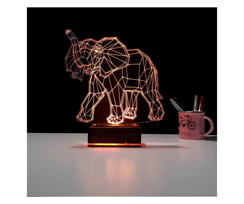Lampa de masa 3D LED - USABURADA, Multicolor imagine vivre.ro