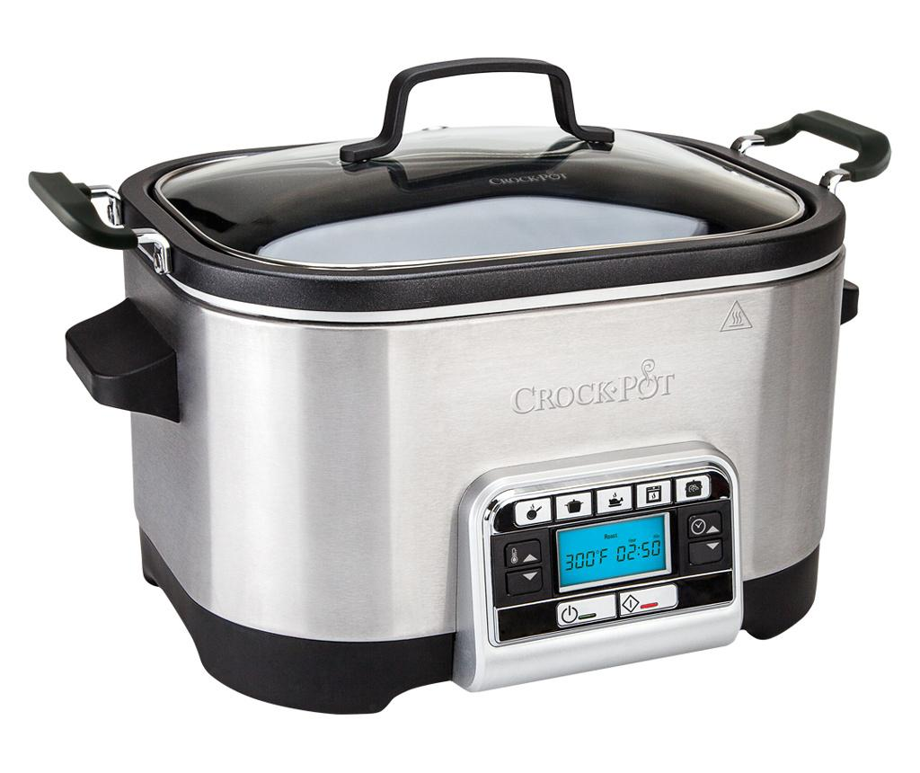 Multicooker 5in1 Crock-Pot 5.6 L - Crock-Pot, Gri & Argintiu imagine