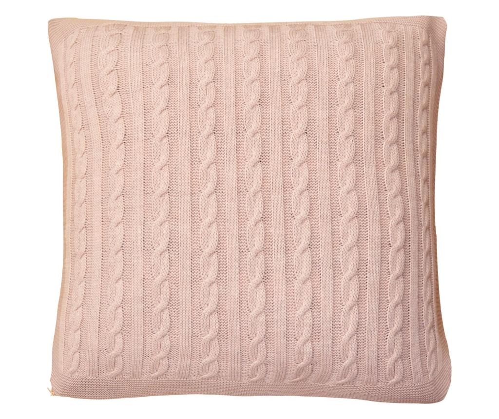Fata de perna SOFT 45x45 cm - textile4home, Roz imagine vivre.ro