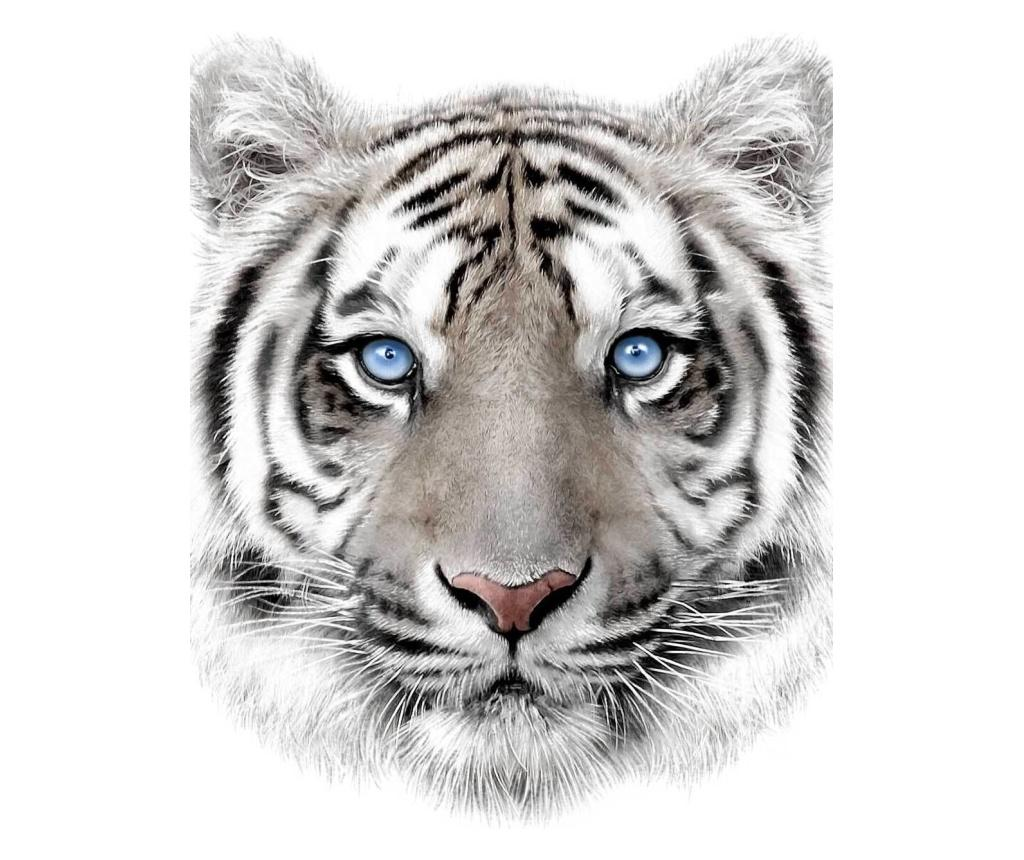 Patura White Tiger 120x150 cm Sweet home, poliester, multicolor - Sweet home, Multicolor imagine