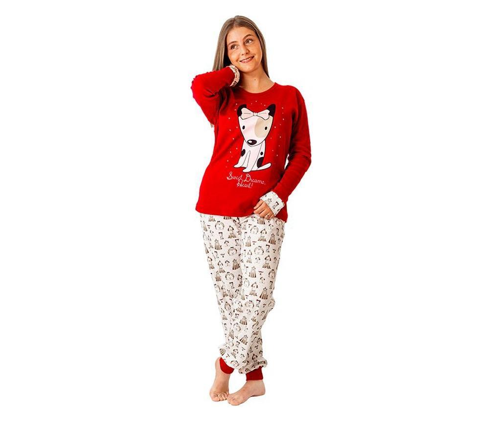 Pijama dama Guauu S - a.apunto, Multicolor poza