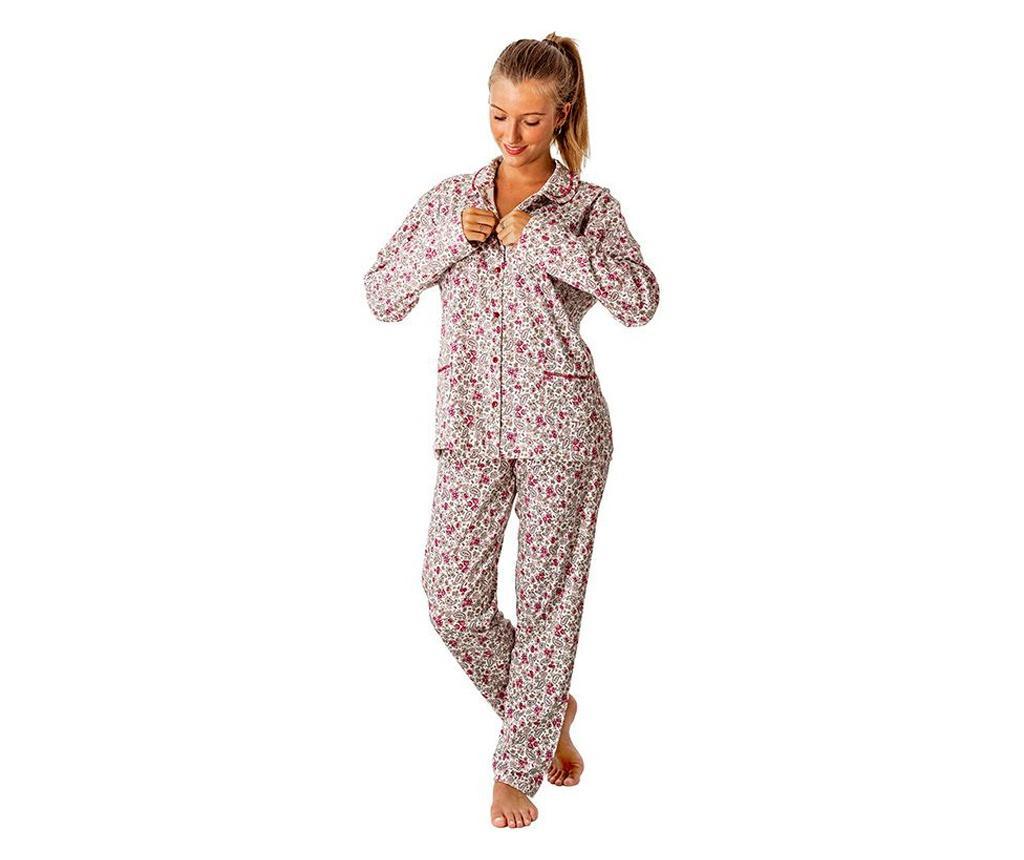 Pijama dama Abierto Cachemir XL - a.apunto, Multicolor poza
