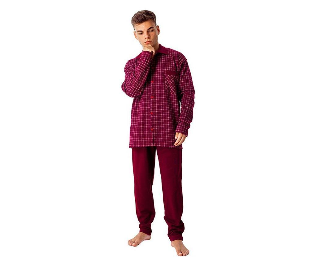 Pijama barbati Abierto 4XL - a.apunto, Rosu imagine