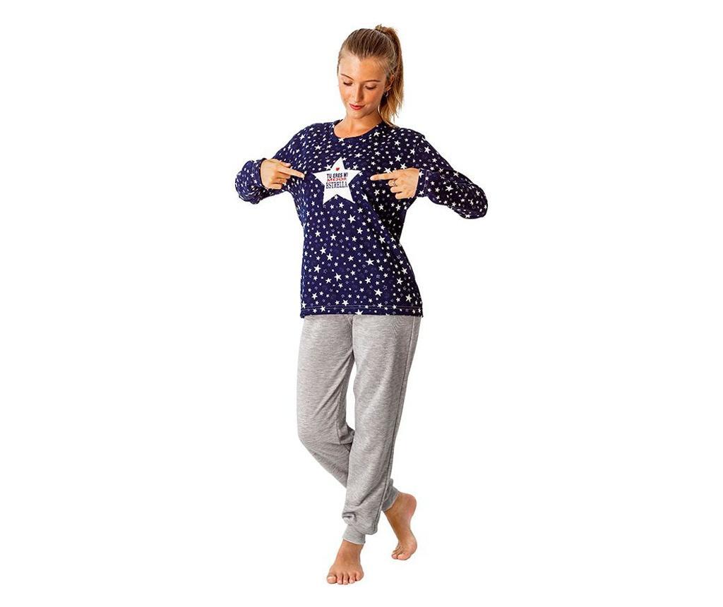 Pijama dama Star M - a.apunto, Albastru imagine