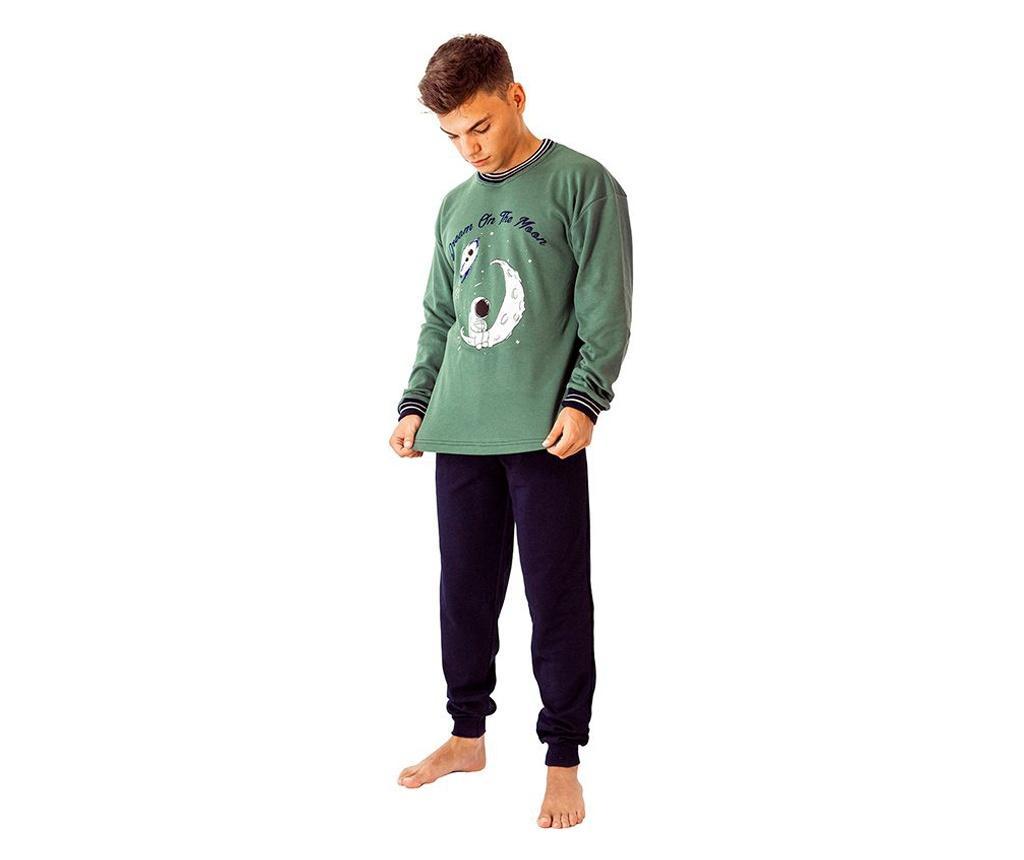 Pijama barbati Astronauta L - a.apunto, Albastru poza