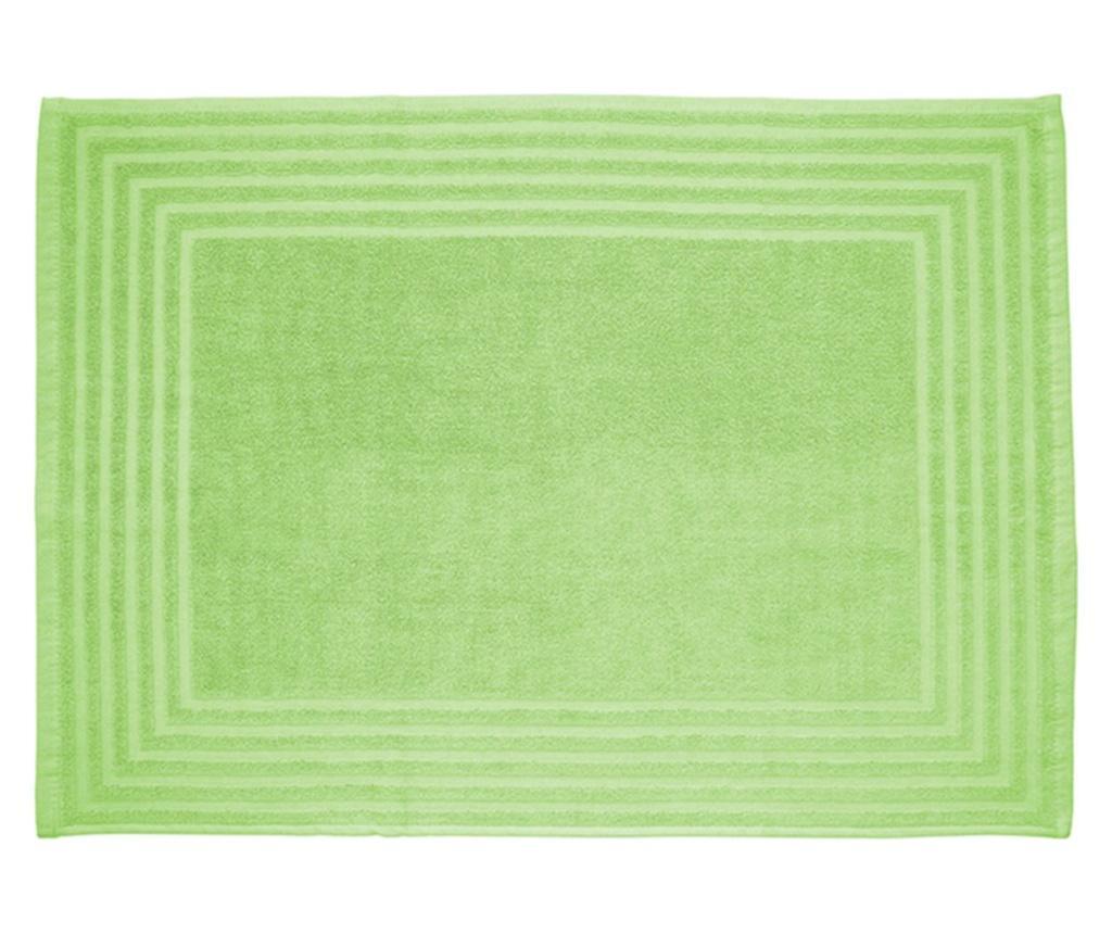 Set 2 covorase de baie 50x70 cm BARCELO, bumbac, verde mar - BARCELO, Verde imagine