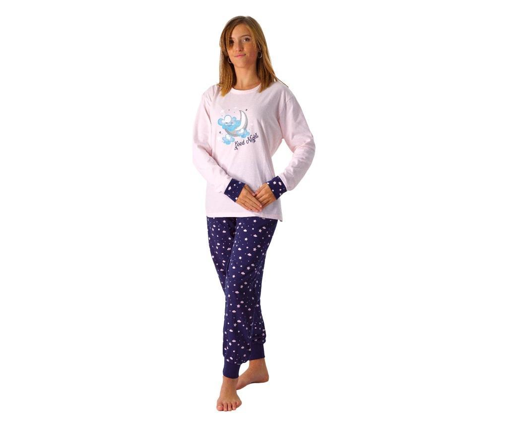 Pijama dama L LENNISS, roz deschis - LENNISS, Albastru imagine