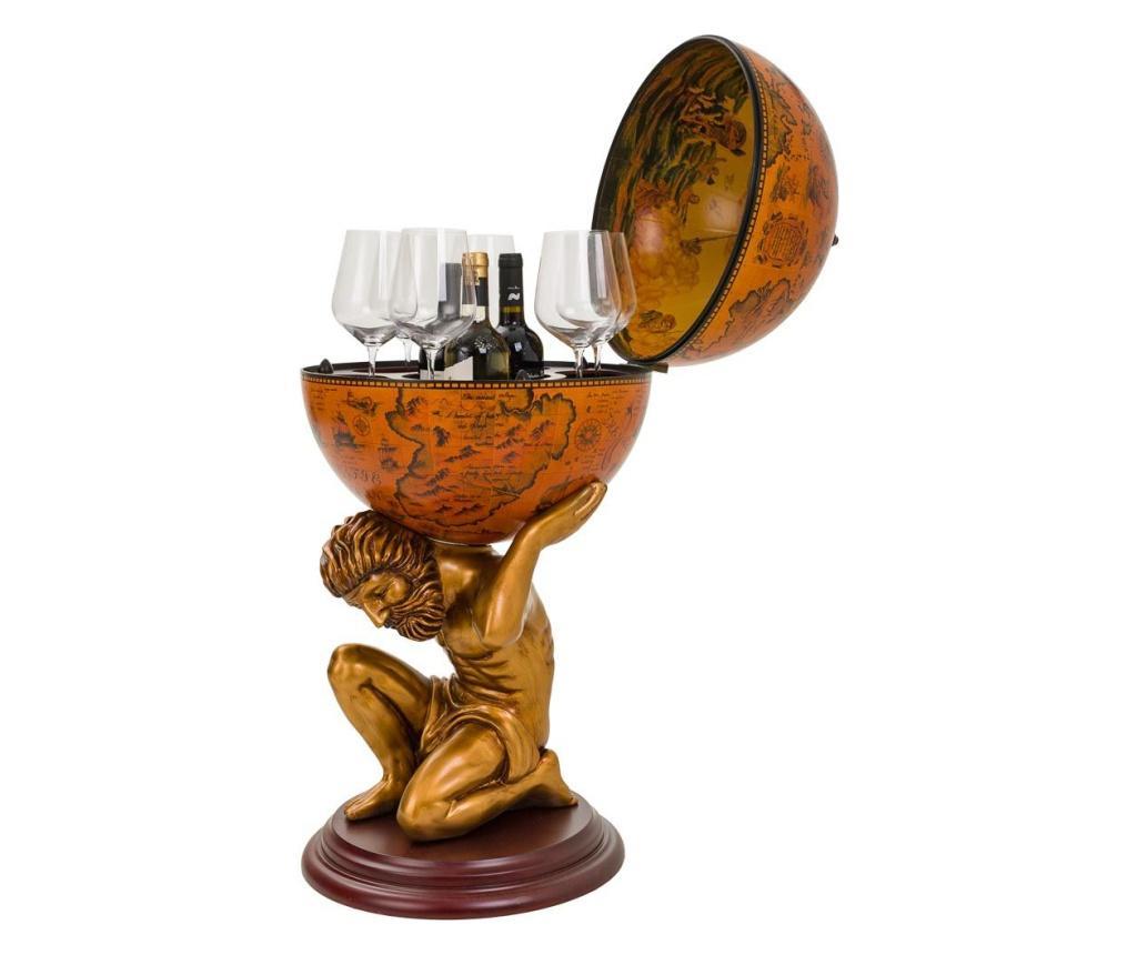 Suport pentru sticle Globe - Creaciones Meng, Rosu